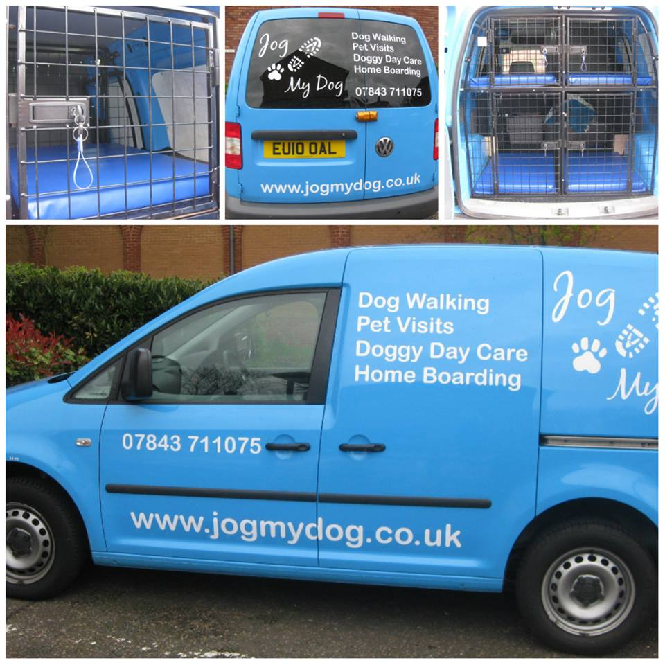 milton keynes dog walker van